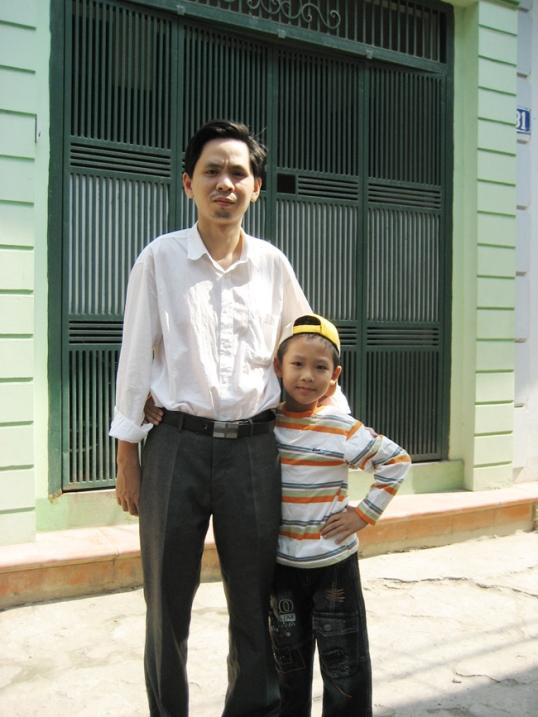 Nghênh ngang với con trái Đăng Quang